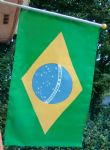 HAND WAVING FLAG - Brazil